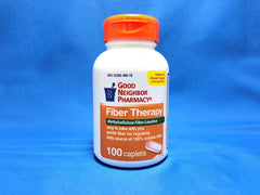 GNP Fiber Therapy, 100 Caplets