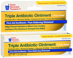 GNP Triple Antibiotic Ointment+ Pain Relief, 1 Oz