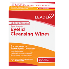 Leader Eye Cleansing Wipes, 30 Count