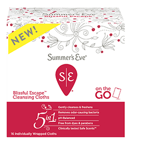 Summers Eve Blissful Escape Feminine Cleaning Cloths, 16 ea