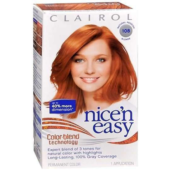 Nice 'n Easy Color Blend Technology, 108 Natural Reddish Blonde