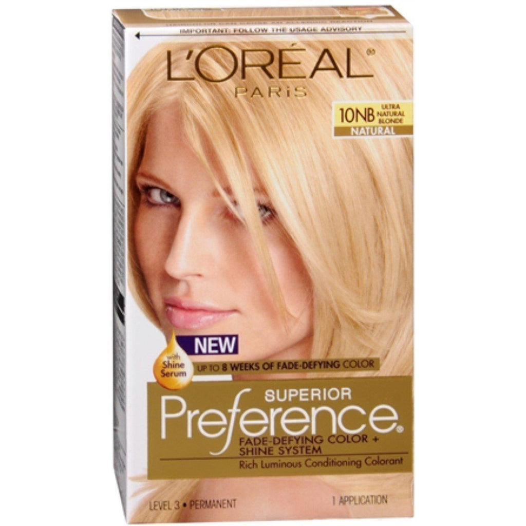 L'Oreal Superior Preference - 10NB Ultra Natural Blonde (Natural),  1 COUNT