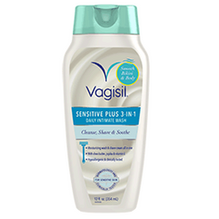 Vagisil Daily Intimate Wash, Sensitive 3-in-1, 12 Fl oz