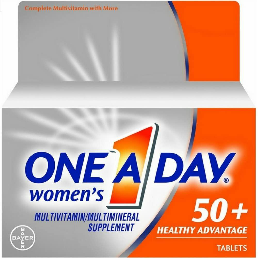 One A Day Women's 50+ Healthy Advantage Multivitamins, 65 tablets