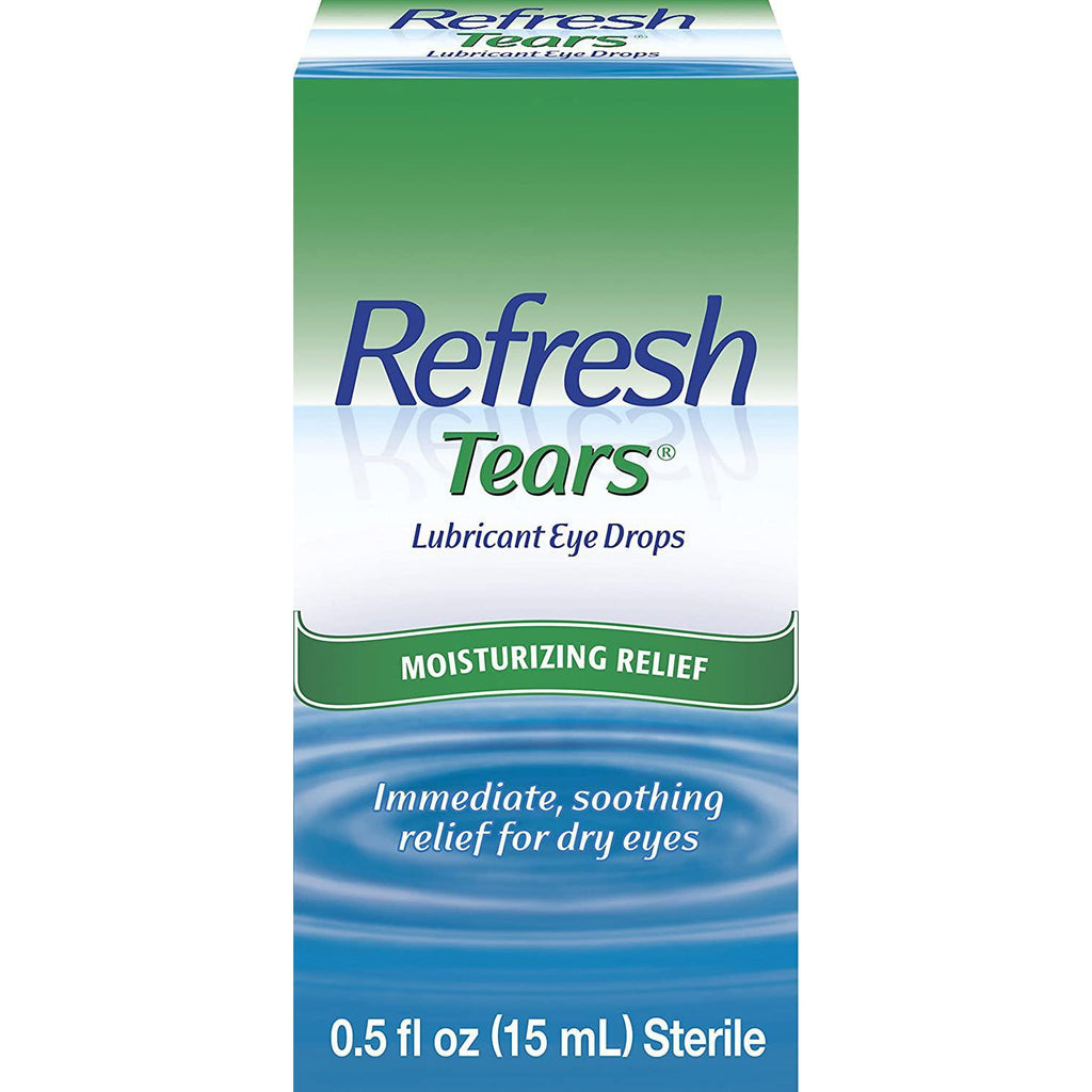 REFRESH TEARS Lubricant Eye Drops 0.50 Fl oz (15 ml)