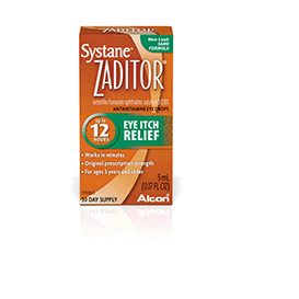 Zaditor Antihistamine Eye Drops, OTC Allergy Symptom Relief, 5 ml