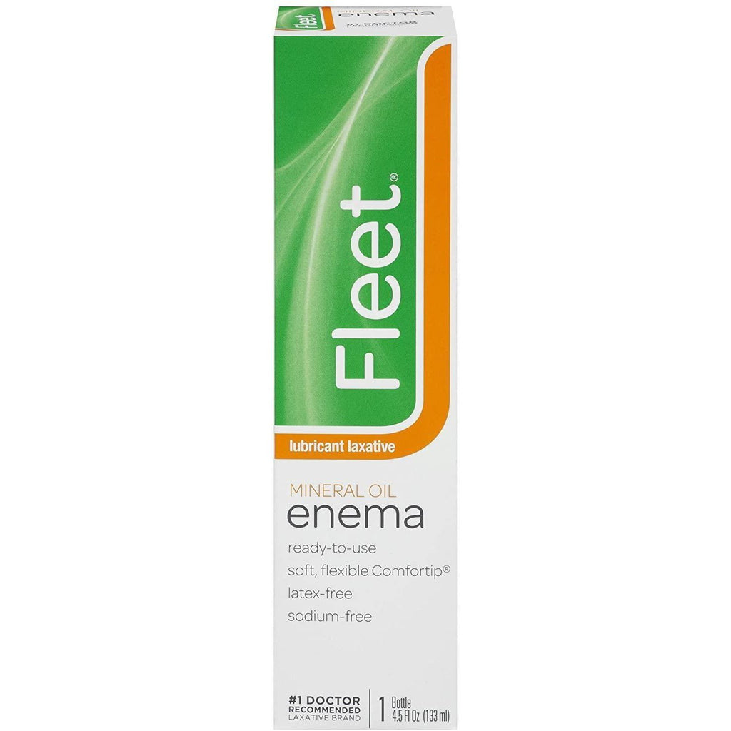 Fleet Mineral Oil Enema, 4.50 oz