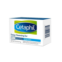 Cetaphil Deep Cleansing Face & Body Bar 4.5 oz