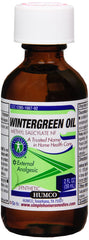 Humco Methyl Salicylate Wintergreen Oil - 2 oz