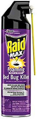 Raid MAX Foaming Crack and Cervice Foam Bed Bug Killer 17.5 oz.