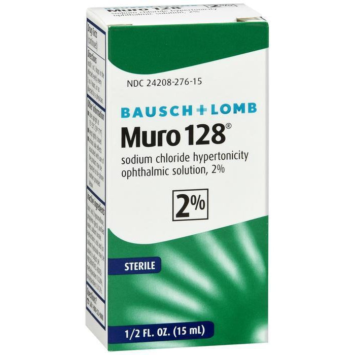 Bausch & Lomb Muro 128 Solution 2% 15 ml