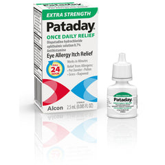 PATADAY Once Daily Relief Extra Strength Eye Allergy Relief Antihistamine - 2.5 ml