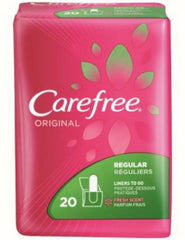 Carefree Original Regular to-Go Pantiliners Fresh Scent, 20 Count