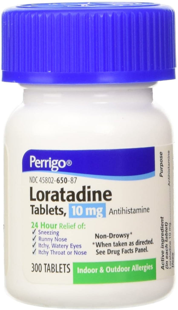 LORATADINE 10MG TABLET 300CT PERRIGO