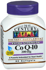21st Century Co Q-10 200mg, 90 Capsules