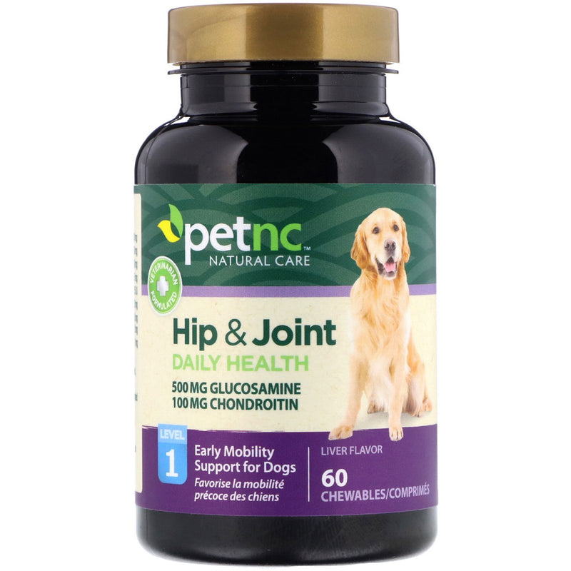 PetNC Hip and Joint Daily Health, 60 Chewable Tablets