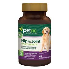 PetNC Hip and Joint Daily Health, 45 Chewable Tablets