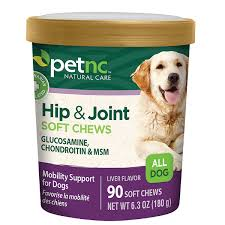 PetNC Hip & Joint Soft Chews All Dogs Liver Flavored, 90 Soft Chews