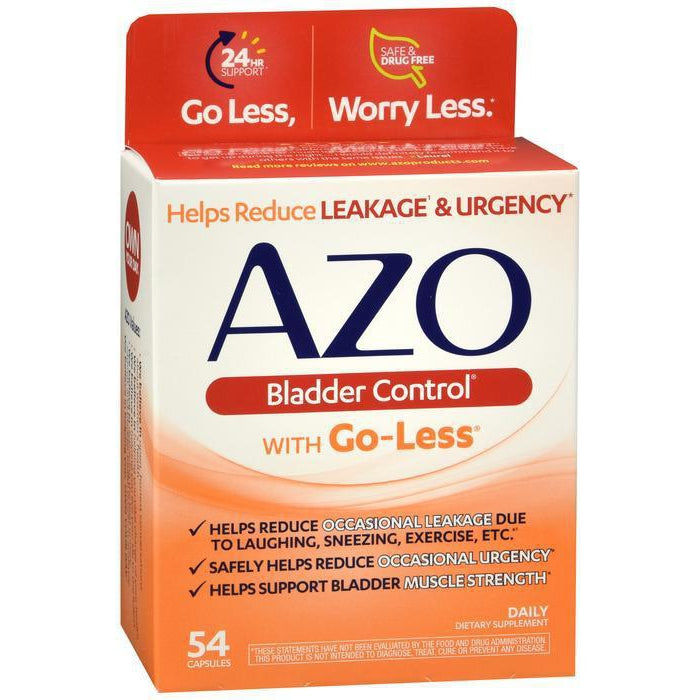 Azo Bladder Control Capsules 54 Ct