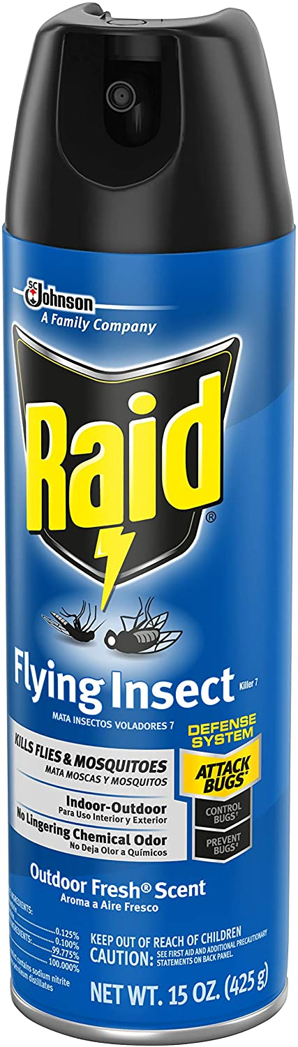 Raid Flying Insect Killer, 15 OZ
