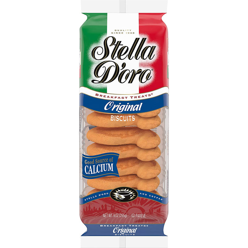 Stella D'oro Cookies Original Biscuits Breakfast Treats, 9 Oz