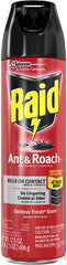 Raid Ant and Roach Kills on Contact No Lingering Chemical Odor Outdoor Fresh Scent 12 Oz
