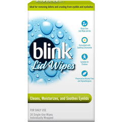Blink Single Use Lid Wipes 30 Count
