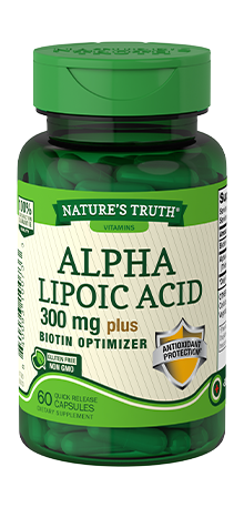 Nature's Truth Alpha Lipoic Acid Quick Release Capsules, 60 Count