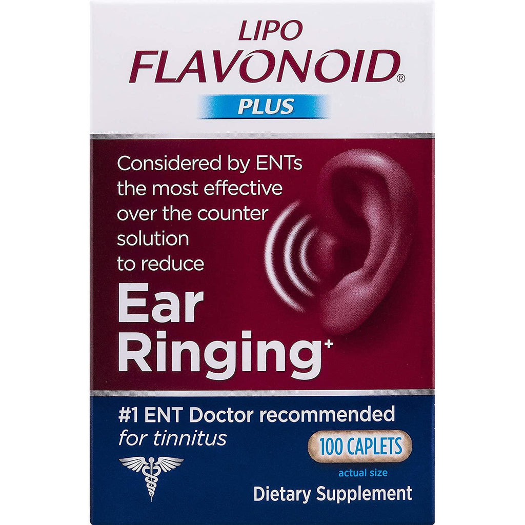 Lipo-Flavonoid Plus Ear Health Supplement 100 Caplets