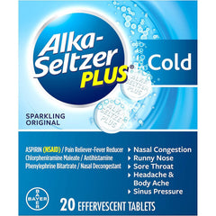 Alka Seltzer Plus (Original), 1 COUNT