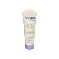 Aveeno Baby Calming Comfort Moisturizing Lotion with Lavender, Vanilla and Natural Oatmeal, 8 oz