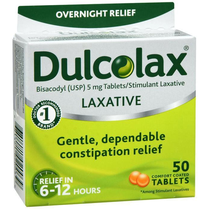 Dulcolax 5mg Tablet  - 50 count