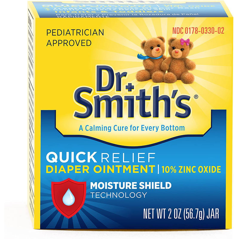 Dr. Smith's Quick Relief Diaper Rash Ointment, 2 oz
