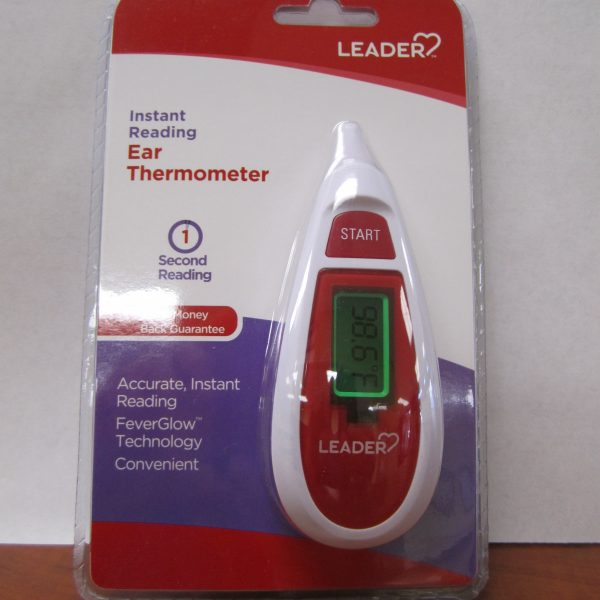 Leader Infrared Ear Thermometer, 1 Count