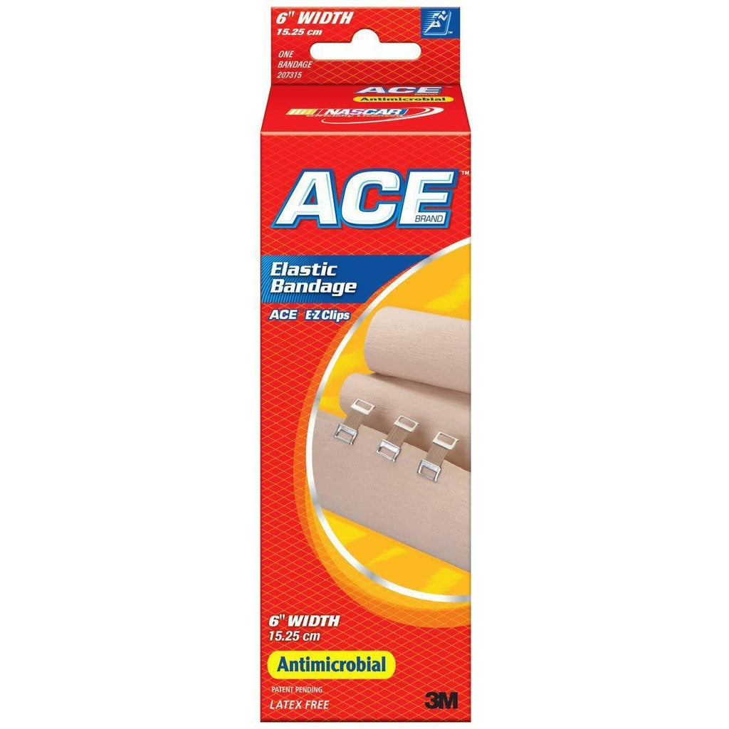 Ace Bandage Elastic Ace 7315 5.3 ft x 6""