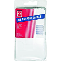 Advantus Self Adhesive All-Purpose Labels, Assorted Shapes and Sizes, 276 Count