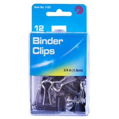 Advantus Binder Clips, 12 Count