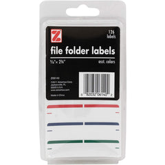 Advantus Self Adhesive File Folder Labels,126 Count