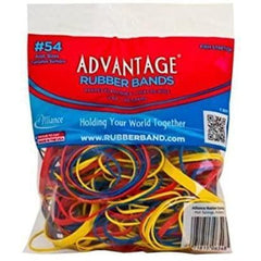 Rubber Bands, Assorted Colors and Sizes, 2 Oz