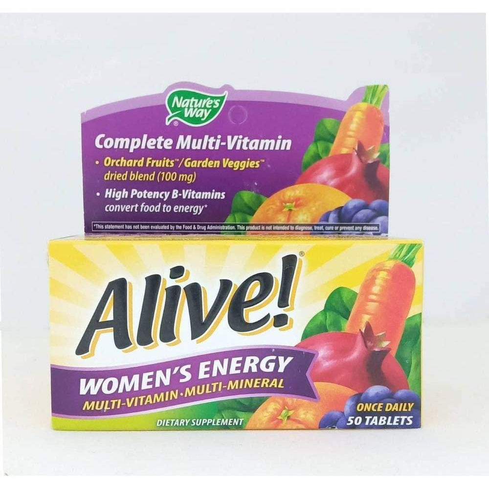 Nature's Way Alive! Women's Energy Multivitamin Multimineral, 50 tablets