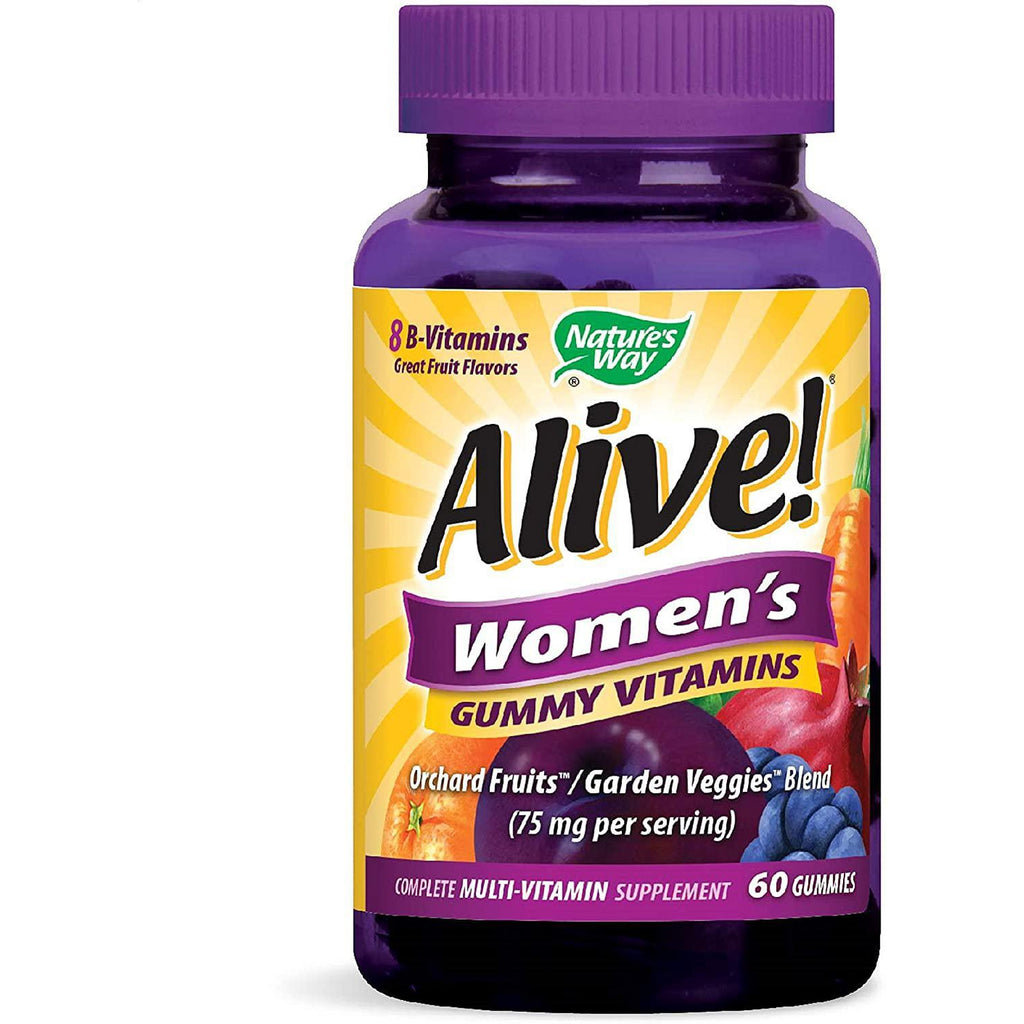 Nature's Way Alive! Women's Complete Multi Vitamin Gummy, 60 gummies