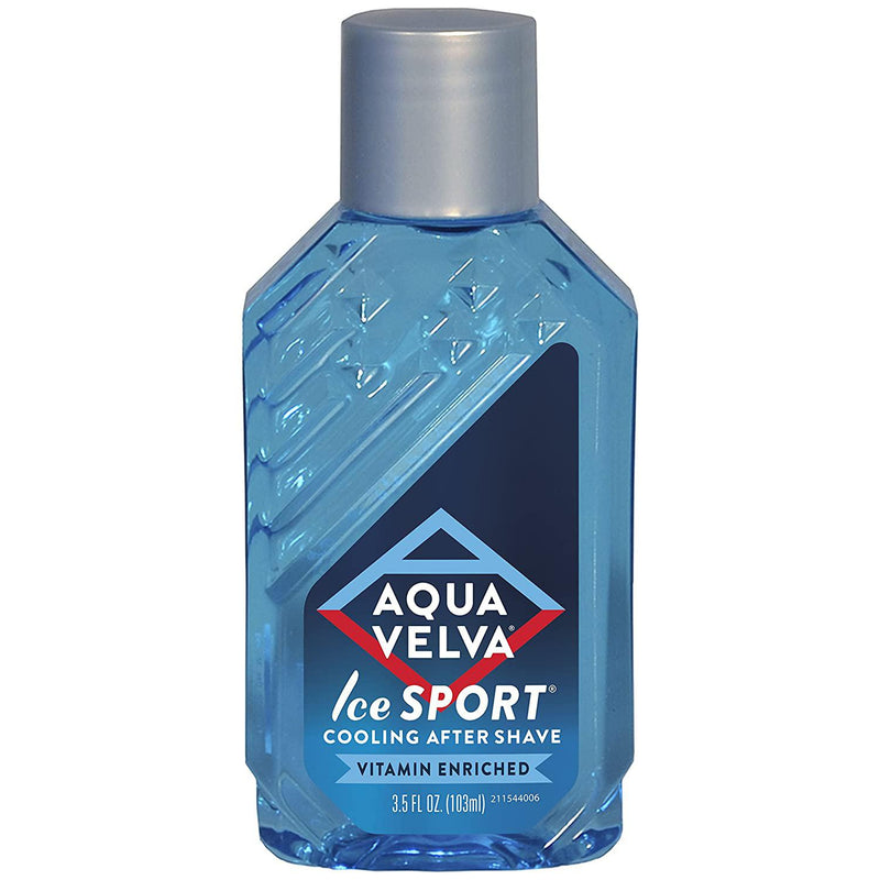 Aqua Velva Cooling After Shave, Ice Sport - 3.5 Oz