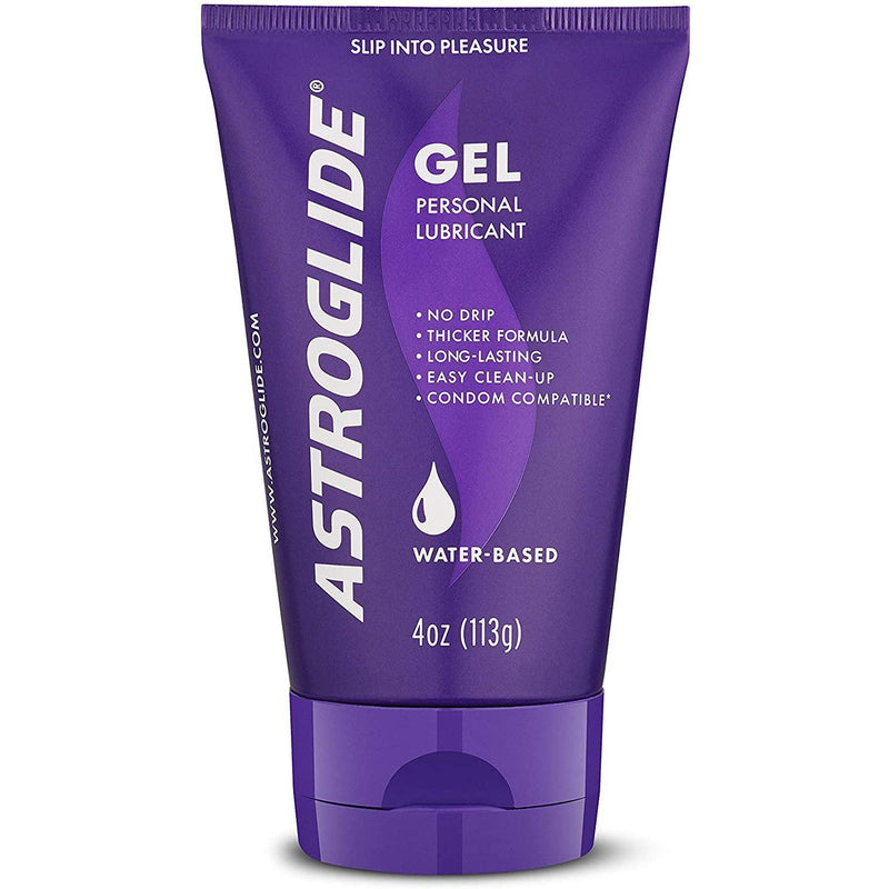 Astroglide Gel, Water Based Personal Lubricant, 4 oz.