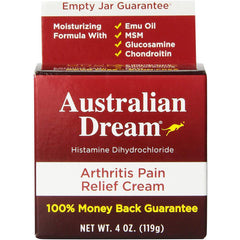 Australian Dream Arthritis Pain Relief Cream, 4 Oz.