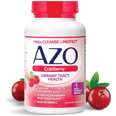 AZO Cranberry Urinary Tract Health Dietary Supplement, 100 Softgels