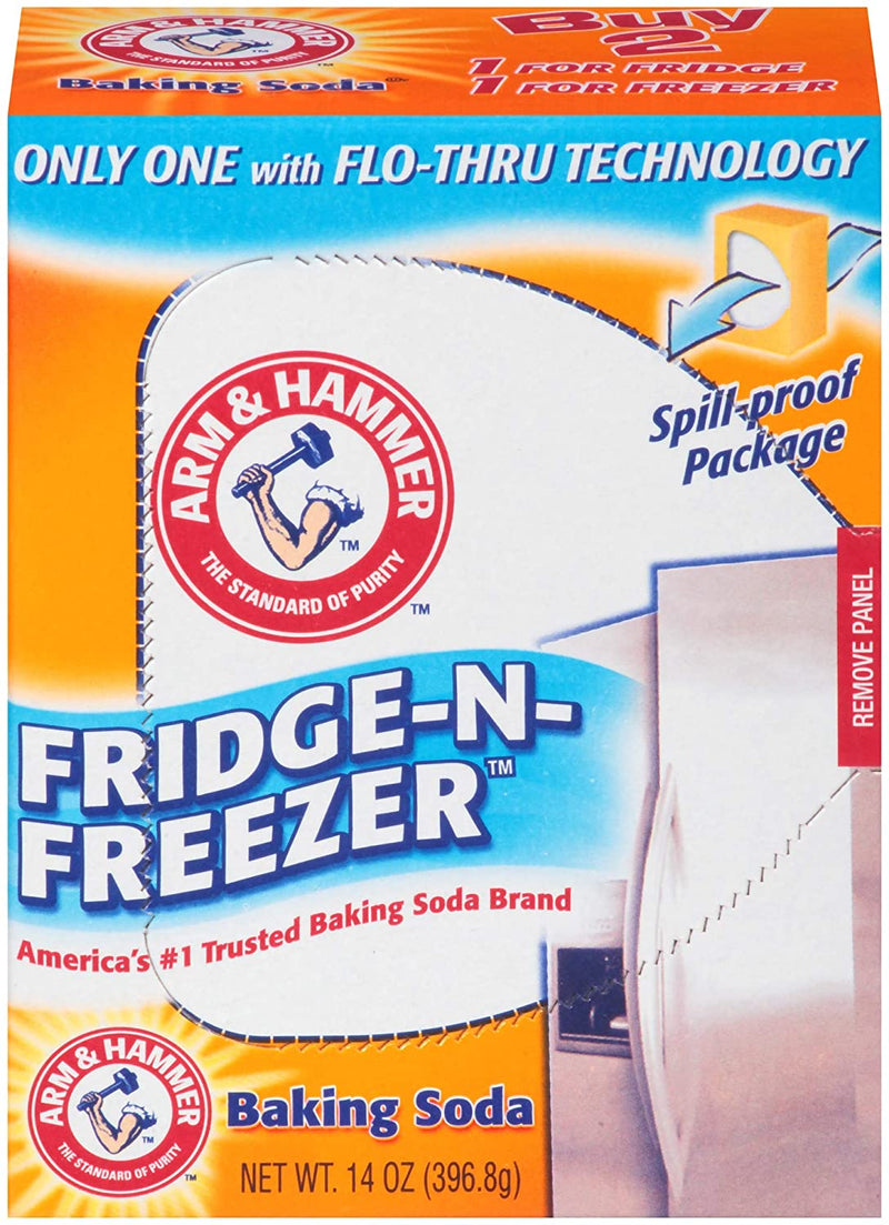 Arm & Hammer Baking Soda Fridge-n-Freezer Odor Absorber - 14 oz.