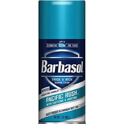 Barbasol Shave Cream, Pacific Rush - 7 Oz