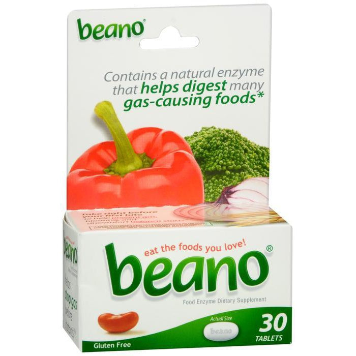Beano Food Enzyme Dietary Supplement - 30 count