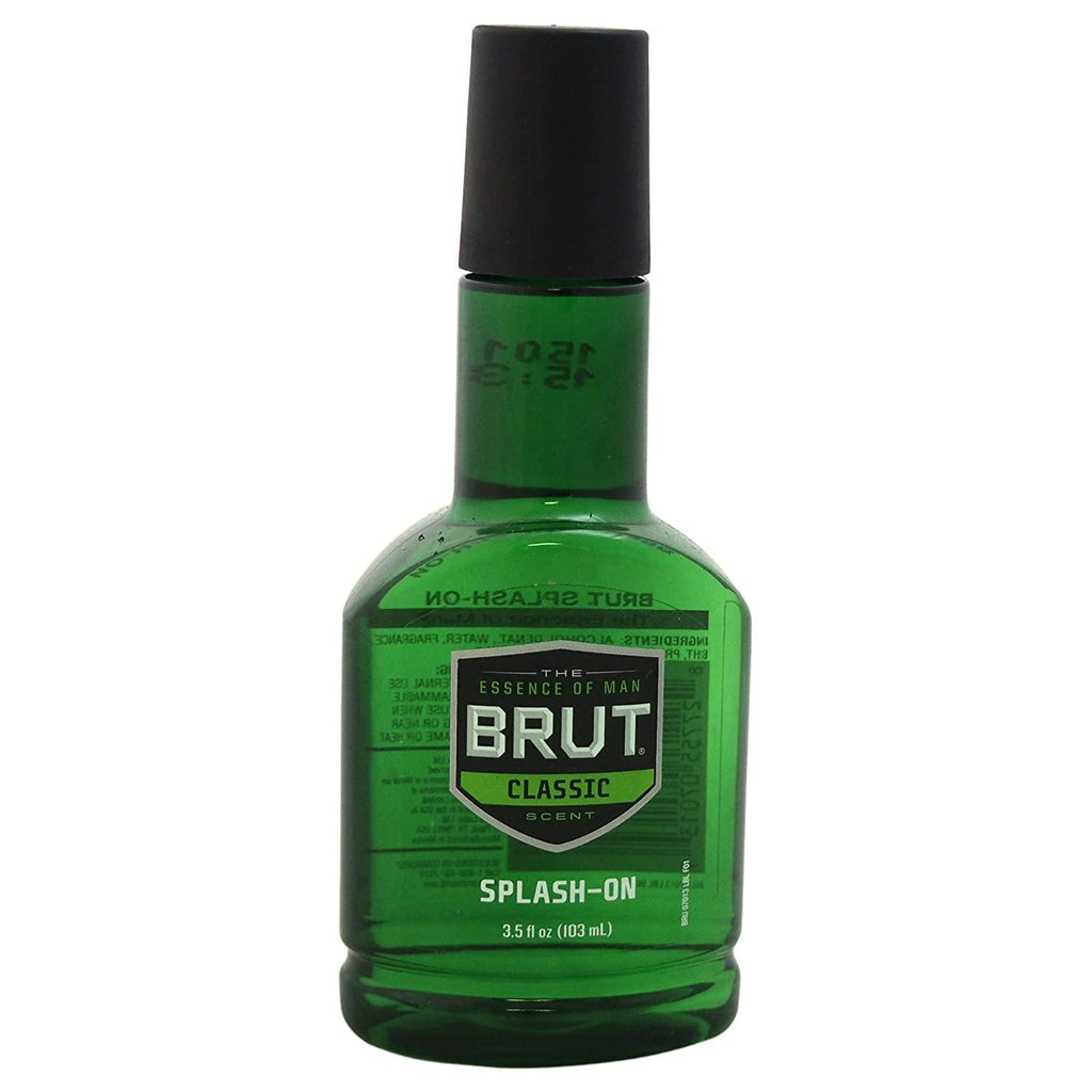 Brut Splash-on Classic Scent for Men - 3.5 Oz