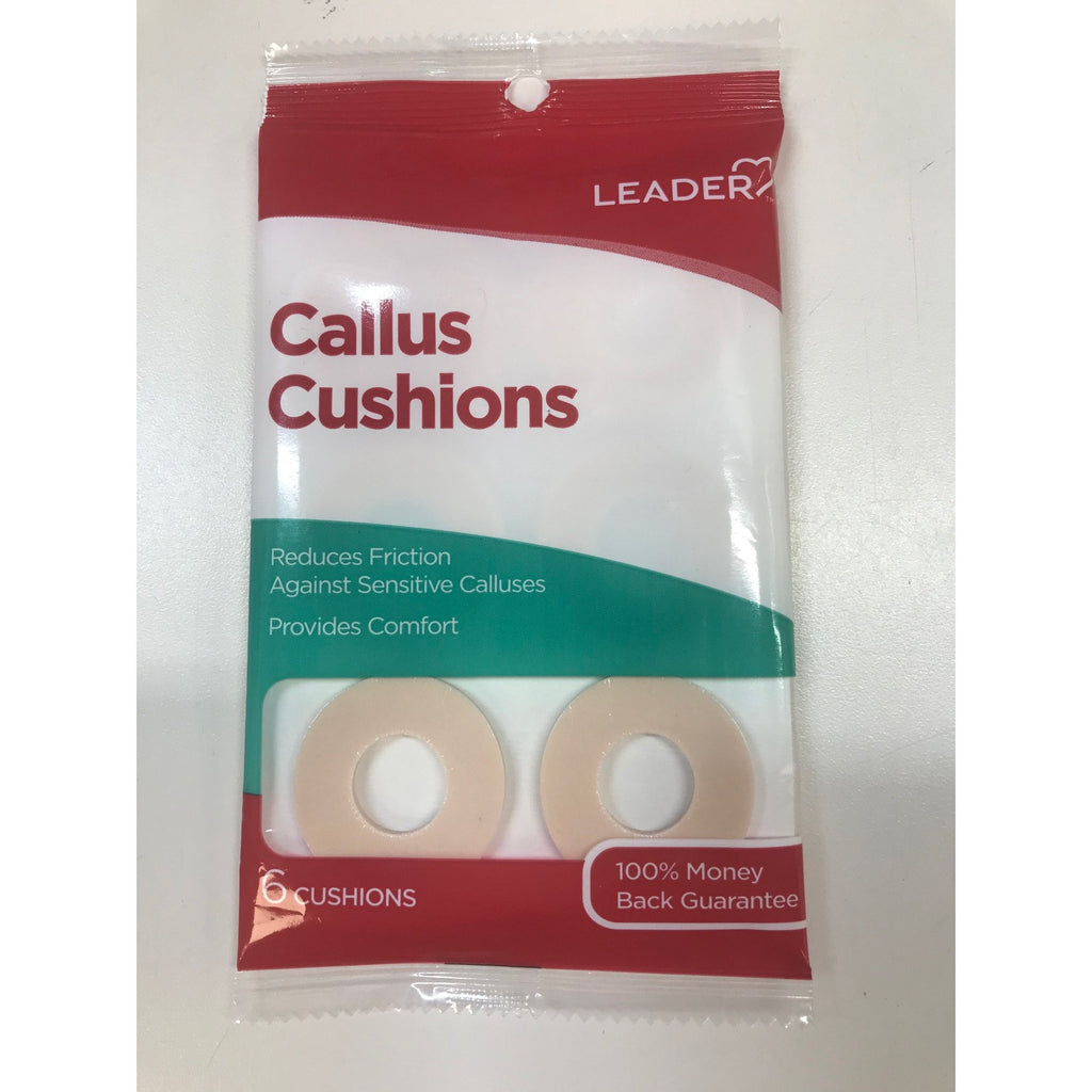 Leader Callus Cushions, 6 Count